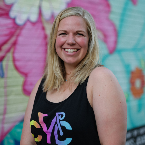 Chelsea • Spin Instructor • CYCLEdelic • Lakeland's Premiere Indoor Cycling Concourse • Spinning, Spin Class, Fitness, Fun Exercise